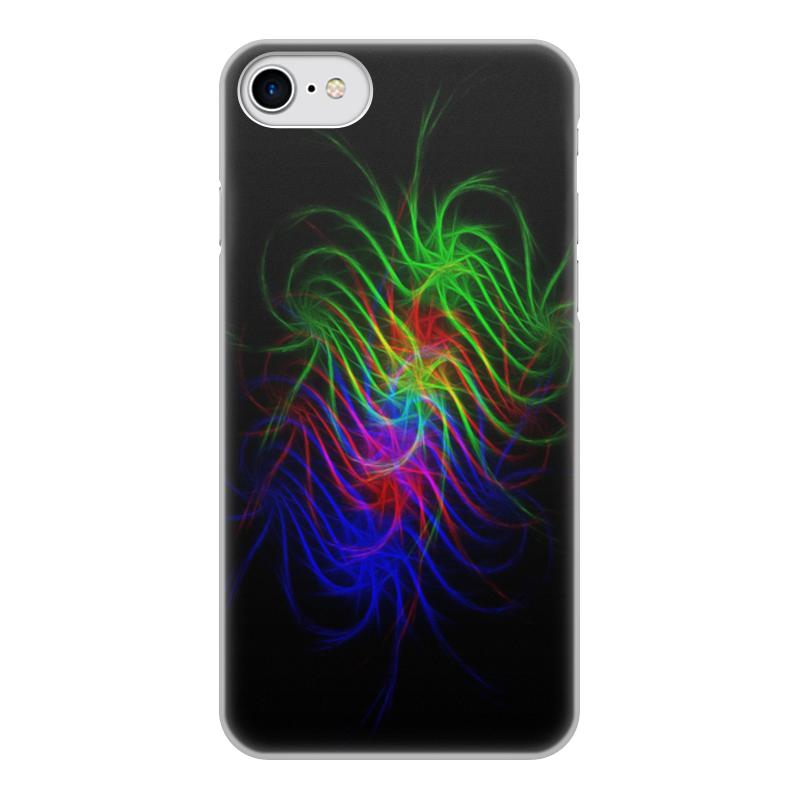 Чехол для iPhone 8, объёмная печать Printio Абстракция чехол для iphone 8 объёмная печать printio разноцветная абстракция