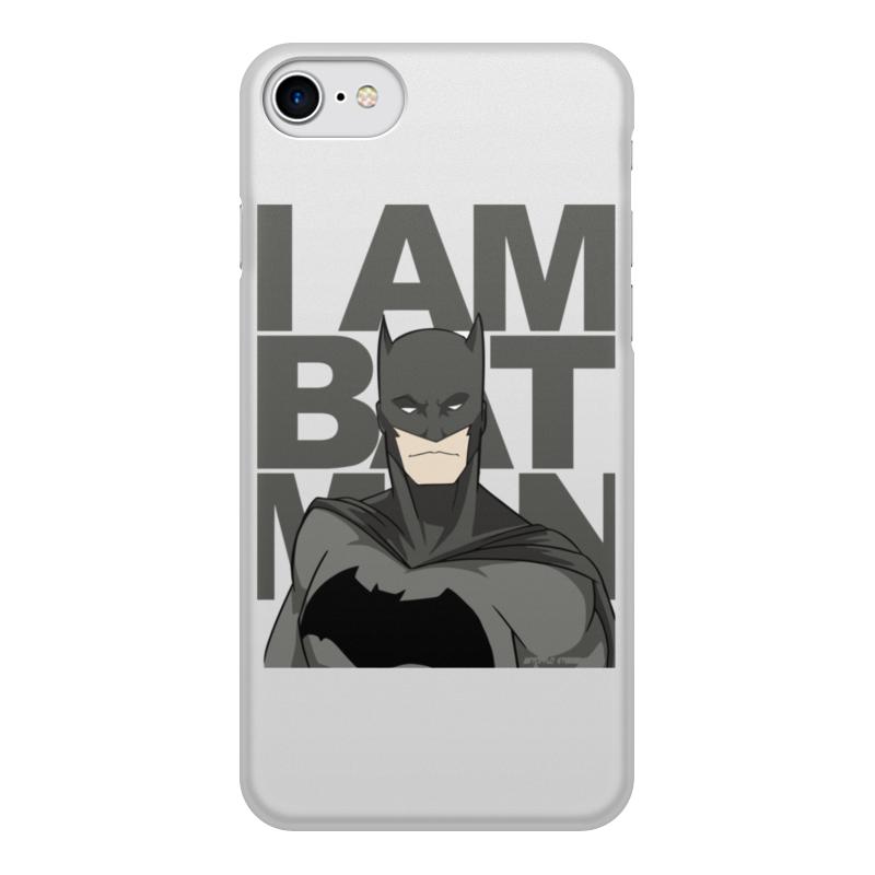 Чехол для iPhone 8, объёмная печать Printio Бэтмен (batman) чехол для ноутбука 14 printio бэтмен batman