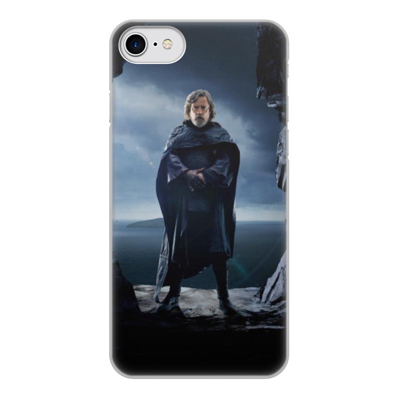 Чехол для iPhone 8, объёмная печать Printio Звездные войны - люк скайуокер цена