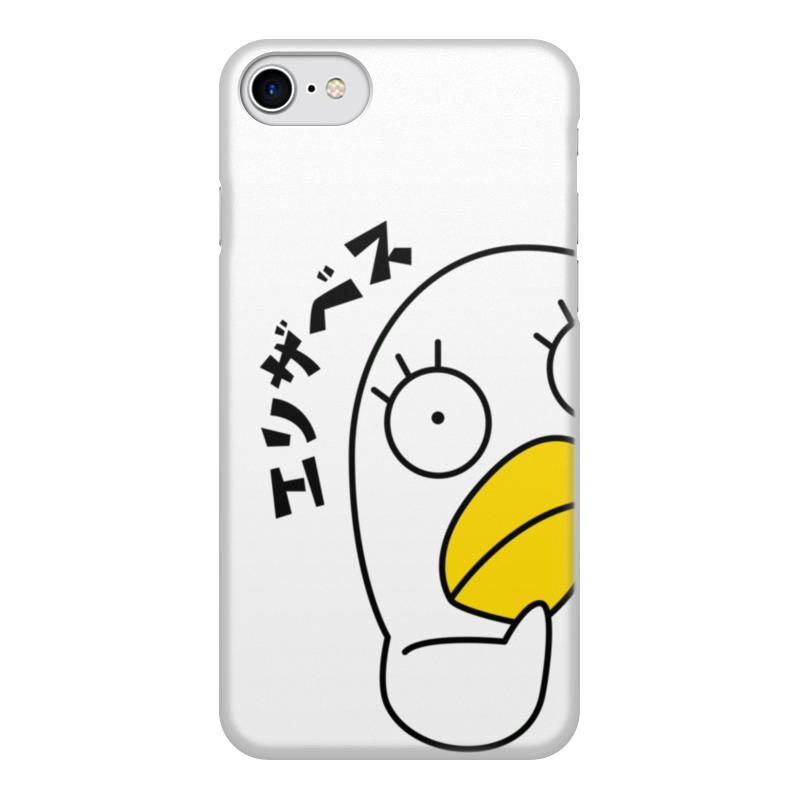 лучшая цена Чехол для iPhone 8, объёмная печать Printio Гинтама. элизабет