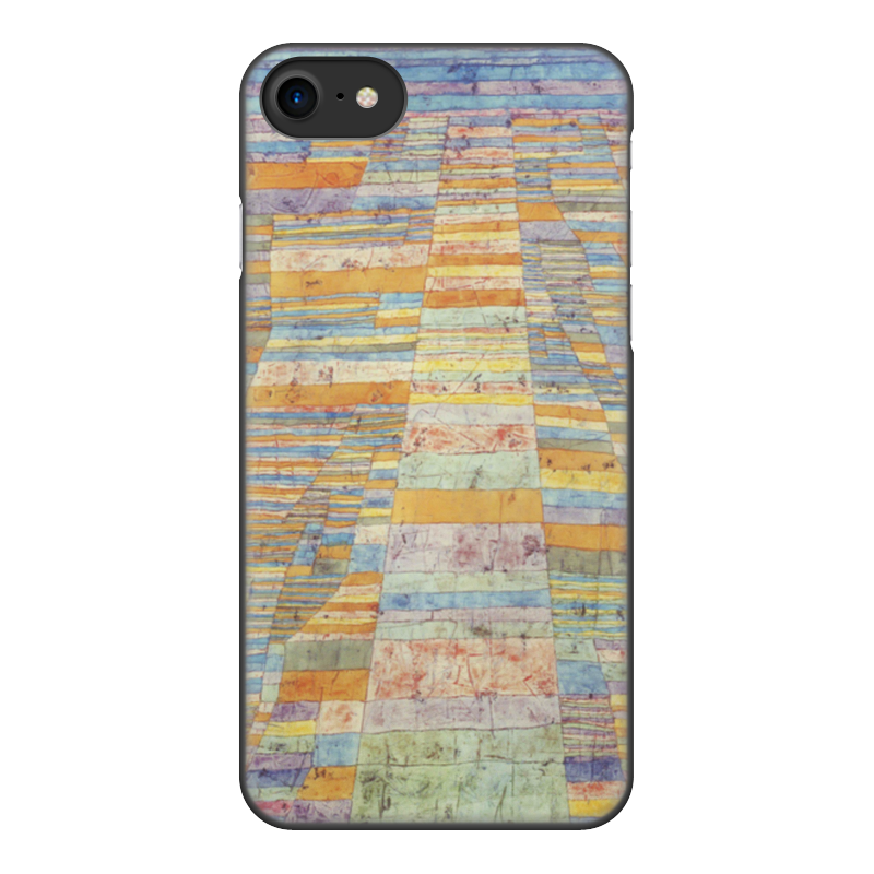 Чехол для iPhone 8, объёмная печать Printio и переулки (пауль клее)