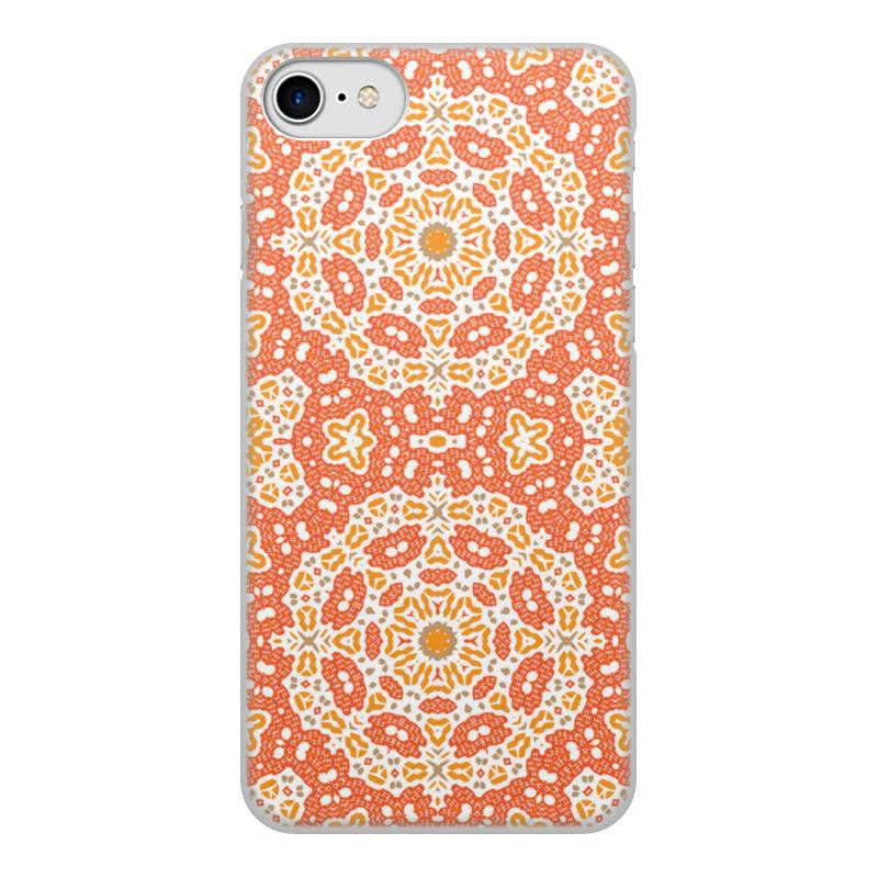 Чехол для iPhone 8, объёмная печать Printio Нежный.