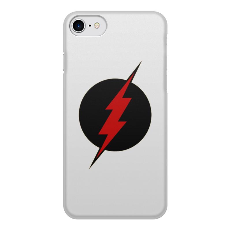 Чехол для iPhone 8, объёмная печать Printio Flash godox qs 400d professional studio flash soft light for photography