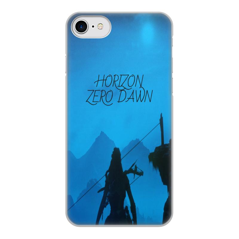 Чехол для iPhone 8, объёмная печать Printio Horizon zero dawn чехол для iphone 8 объёмная печать printio hans zatzka
