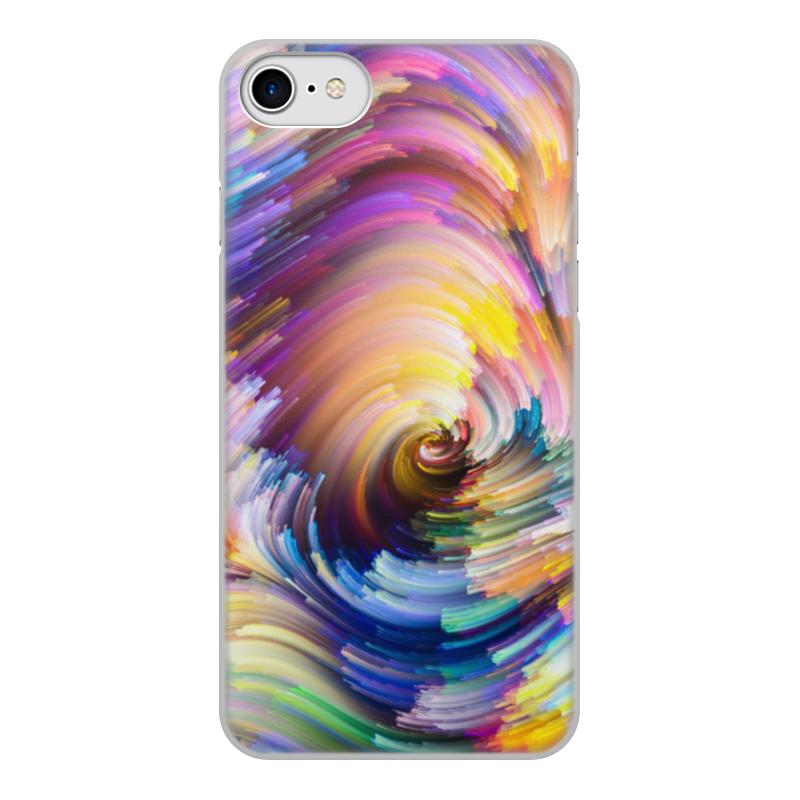 Чехол для iPhone 8, объёмная печать Printio Абстракция