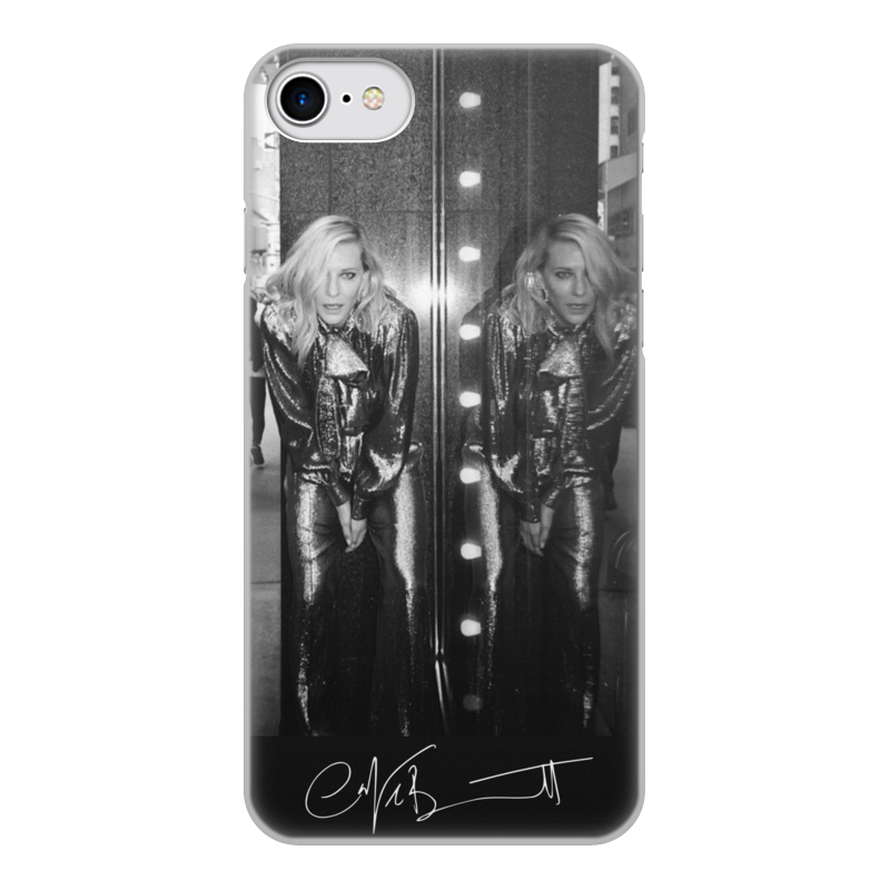 Фото - Чехол для iPhone 8, объёмная печать Printio Cate blanchett чехол для iphone 5 глянцевый с полной запечаткой printio deadpool vs punisher