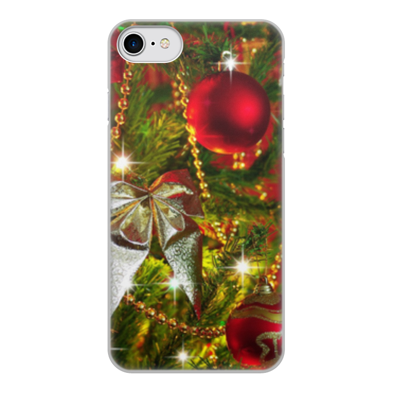 Чехол для iPhone 8, объёмная печать Printio Новый год
