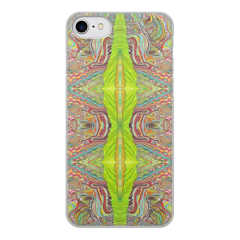 Чехол для iPhone 8, объёмная печать Printio Ом дракон узоры 0001 айфон 8
