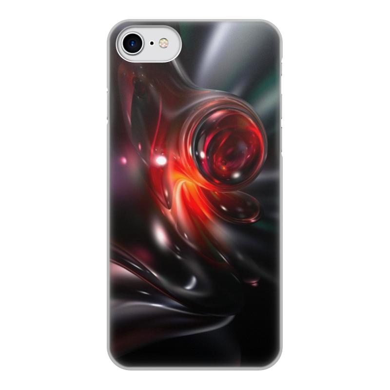 Чехол для iPhone 8, объёмная печать Printio Абстракция чехол для iphone 7 глянцевый printio альтрон мстители