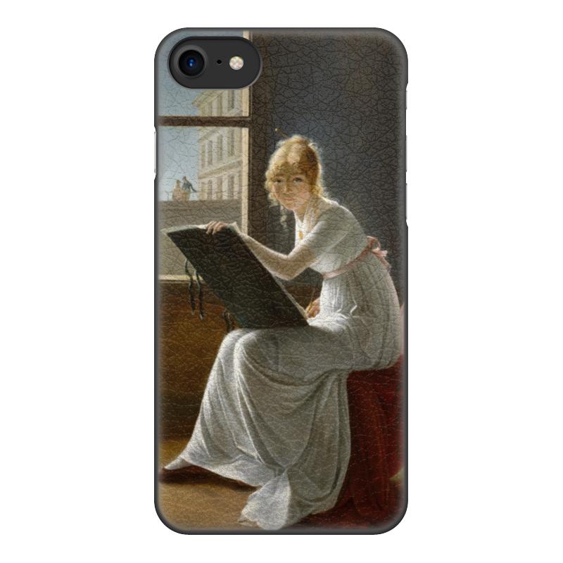 Чехол для iPhone 8, объёмная печать Printio Портрет молодой женщины (мари-дениз вильер)худож чехол для iphone 8 объёмная печать printio портрет молодой женщины мари дениз вильер худож