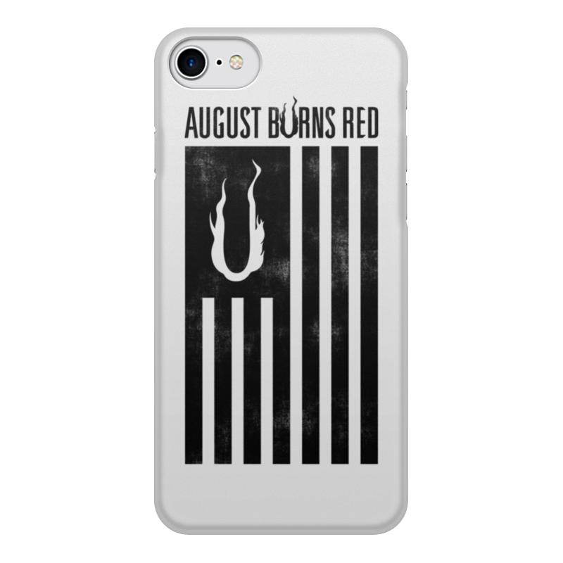 Чехол для iPhone 8, объёмная печать Printio august burns red august heat