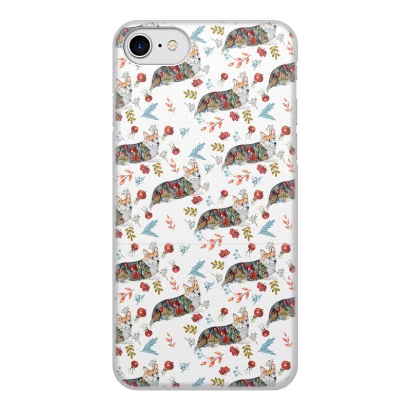 Чехол для iPhone 8, объёмная печать Printio Осенний роман чехол для iphone 5 глянцевый с полной запечаткой printio осенний день сокольники левитан