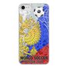"""Чехол для iPhone 8, объёмная печать """"World Soccer 2018"""" - футбол, мяч, мундиаль, кубок"""