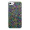 """Чехол для iPhone 8, объёмная печать """"Процессы"""" - электроника, яркие цвета, плата"""