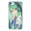 """Чехол для iPhone 8, объёмная печать """"Miku Hatsune Sush"""" - аниме, hatsune, мику, бесконечное лето, miku"""