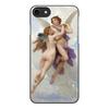 """Чехол для iPhone 8, объёмная печать """"Амур и Психея (Вильям Бугро)"""" - картина, живопись, купидон, бугро"""