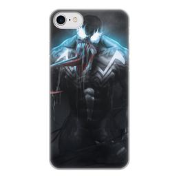 """Чехол для iPhone 8, объёмная печать """"Веном (Venom)"""" - марвел, комиксы, веном, симбиот, comics"""