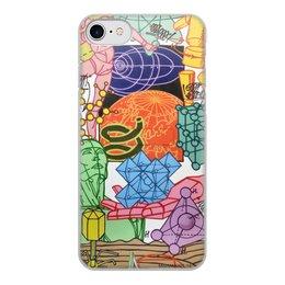 """Чехол для iPhone 8, объёмная печать """"Misha Most"""" - future, человек, технологии, наука, будущее"""