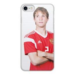"""Чехол для iPhone 8, объёмная печать """"Мариу Фернандес"""" - играемсердцем, сборнаяроссии, мариу"""
