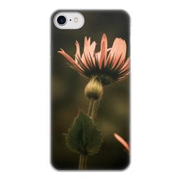 """Чехол для iPhone 8, объёмная печать """"Ботаника"""" - лето, цветы, нежность, летнее настроение"""