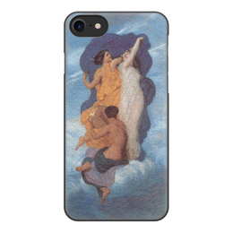 """Чехол для iPhone 8, объёмная печать """"Танец (Вильям Бугро)"""" - картина, бугро, живопись"""