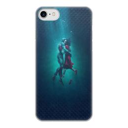 """Чехол для iPhone 8, объёмная печать """"Форма воды"""" - любовь, кино, фэнтези, оскар, форма воды"""