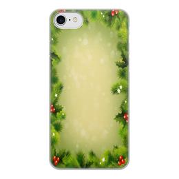 """Чехол для iPhone 8, объёмная печать """"С Новым годом!"""" - новый год, настроение, елка"""