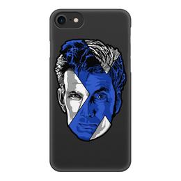 """Чехол для iPhone 8, объёмная печать """"Доктор Кто ( Doctor Who)"""" - doctor who, доктор кто"""