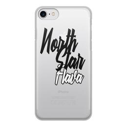 "Чехол для iPhone 8, объёмная печать ""North Star Flava"" - north star, музыка"