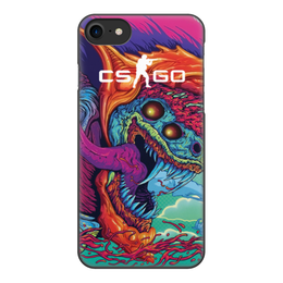 """Чехол для iPhone 8, объёмная печать """"CS GO   """" - cs go, кс го, игры"""