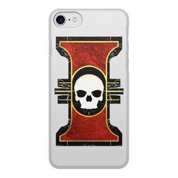 """Чехол для iPhone 8, объёмная печать """"Инсигния"""" - warhammer 40k, warhammer, инсигния, инквизиция, ордо дезолатус"""