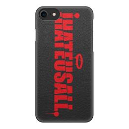 "Чехол для iPhone 8, объёмная печать ""Premium case iPhone 8\8Plus"" - haters, swag, asap rocky, streetwear, молодой бренд"