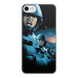 """Чехол для iPhone 8, объёмная печать """"Звездный десант"""" - фильмы"""