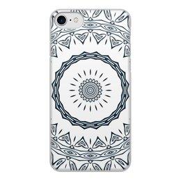 """Чехол для iPhone 8, объёмная печать """"Барабан Альт"""" - подарок, женщине, мужчине, спектр"""