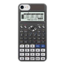 """Чехол для iPhone 8, объёмная печать """"Калькулятор инженерный"""" - case iphone, calculator"""