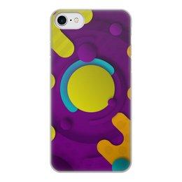 """Чехол для iPhone 8, объёмная печать """"Абстрактный"""" - рисунок, стиль, орнамент, узор, абстрактный"""