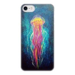 """Чехол для iPhone 8, объёмная печать """"Без названия"""" - живопись, океан, авторскаяработа"""