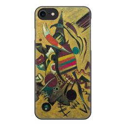 """Чехол для iPhone 8, объёмная печать """"Points (Василий Кандинский)"""" - картина, кандинский, живопись"""