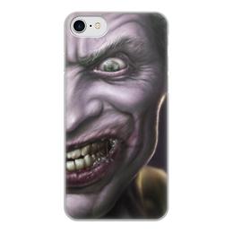 """Чехол для iPhone 8, объёмная печать """"Джокер"""" - joker, batman, джокер"""