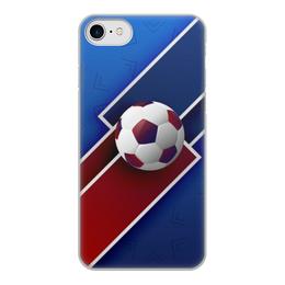 """Чехол для iPhone 8, объёмная печать """"Футбол"""" - футбол, спорт, мяч, 2018"""