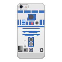 "Чехол для iPhone 8, объёмная печать ""R2-D2"" - звёздные войны, star wars, r2d2, р2д2"