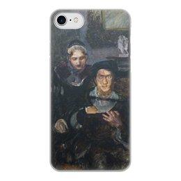 """Чехол для iPhone 8, объёмная печать """"Гамлет и Офелия (картина Михаила Врубеля)"""" - картина, живопись, шекспир, литература, врубель"""