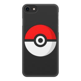 "Чехол для iPhone 8, объёмная печать ""Pokemon Go"" - pokemon, покемон, pokemon go, покемон го"