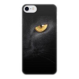 """Чехол для iPhone 8, объёмная печать """"Глаз пантеры"""" - животные, кошки, телефон, чехлы"""