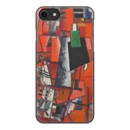 """Чехол для iPhone 8, объёмная печать """" Дама и рояль (Казимир Малевич)"""" - картина, живопись, малевич"""