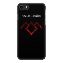 """Чехол для iPhone 8, объёмная печать """"Твин Пикс"""" - сериал, twin peaks, твин пикс"""