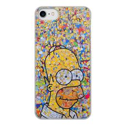 """Чехол для iPhone 8, объёмная печать """"Симпсоны"""" - гомер, симпсоны, гомер симпсон, the simpsons, gomer"""