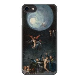 """Чехол для iPhone 8, объёмная печать """"Блаженные и проклятые (Восхождение в эмпирей)"""" - картина, босх, живопись"""