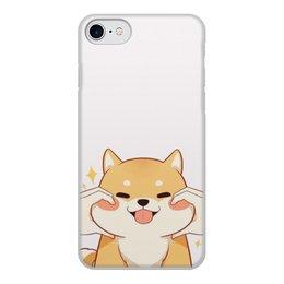 """Чехол для iPhone 8, объёмная печать """"Порода Корги"""" - животные, собака, фотография, корги"""