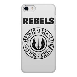 """Чехол для iPhone 8, объёмная печать """"Звёздные войны (star wars)"""" - star wars, звёздные войны, rebels"""